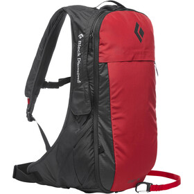 Black Diamond JetForce Pro Lumivyöryreppu 10l, red